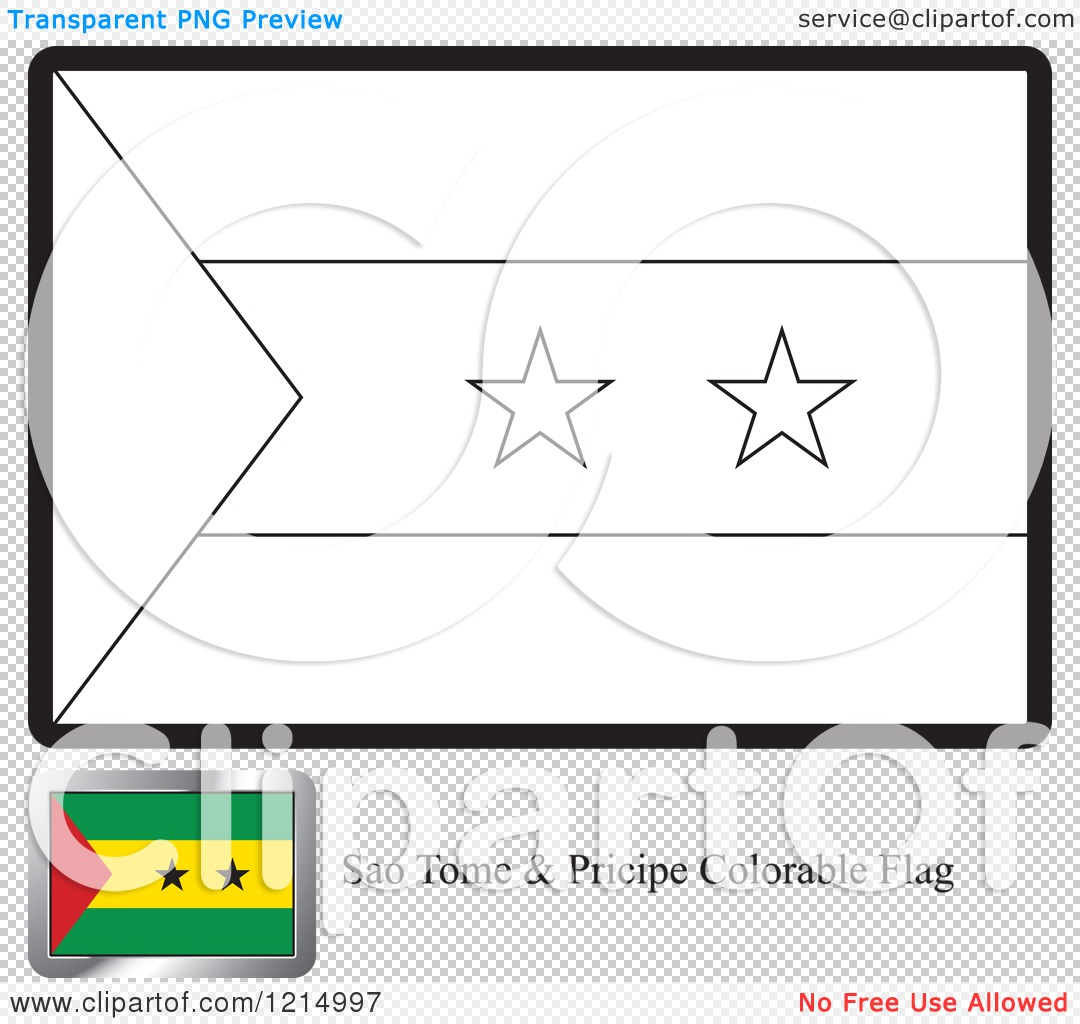 Sao Tome And Principe Map Coloring Pages