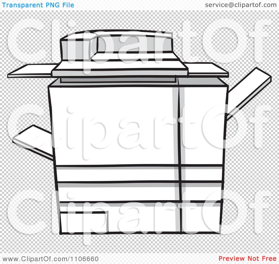 Clipart Photocopier Machine