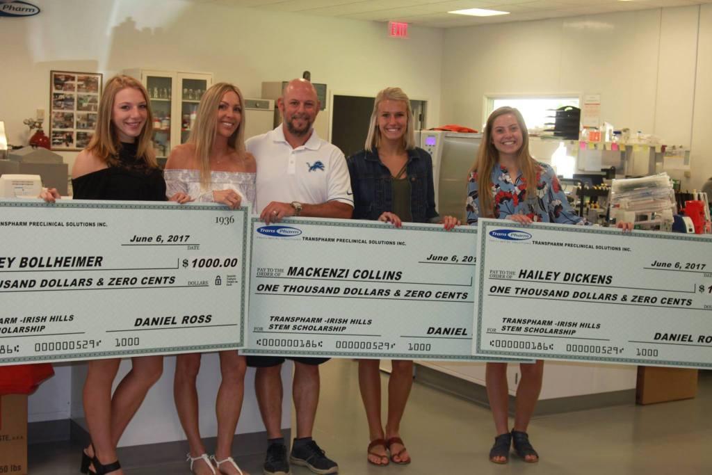 2017 TransPharm scholarship winners