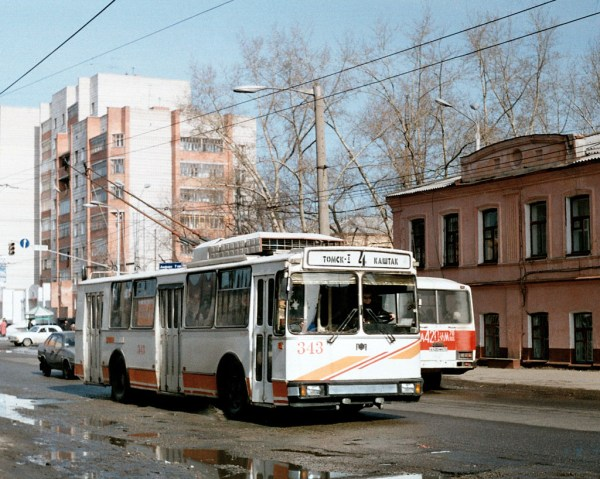 Фото: Томск, АКСМ 101М № 343 — TransPhoto