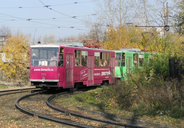 Фото: Екатеринбург, Tatra T6B5SU № 745 — TransPhoto