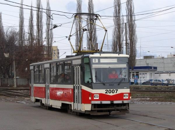 Фото: Уфа, Tatra T6B5-MPR № 2007 — TransPhoto