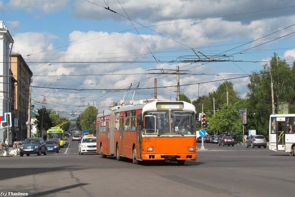 Вологда, Gräf & Stift GE150 M18 № 215 — Фото — TransPhoto