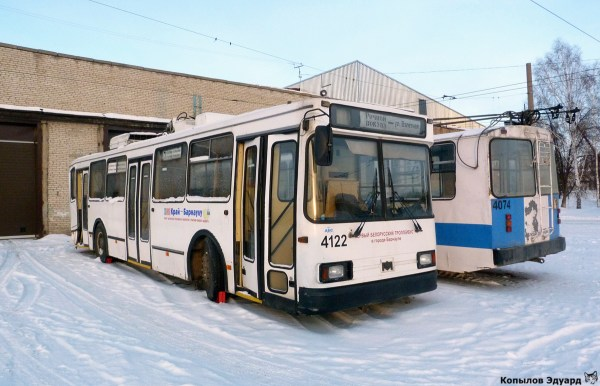 Фото: Барнаул, БКМ-20101 БТРМ № 4122 — TransPhoto