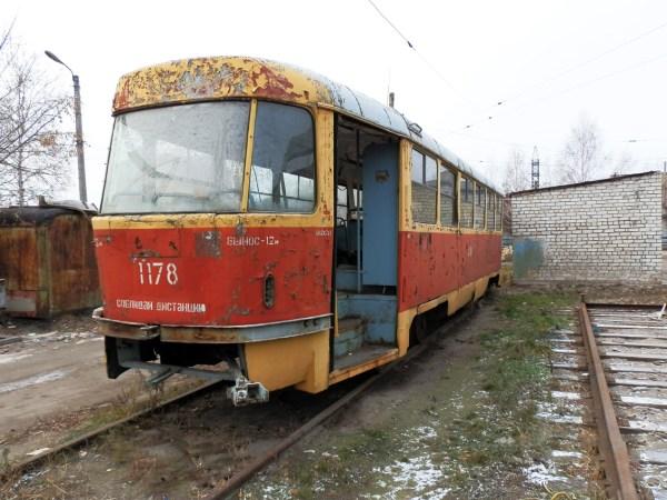 Барнаул, Tatra T3SU [двухдверная] № 1178; Барнаул ...