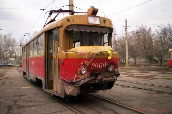 Фото: Барнаул, Tatra T3SU № 2060 — TransPhoto