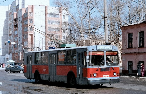 Томск, ЗиУ-682Г [Г00] № 332 — Фото — Городской ...