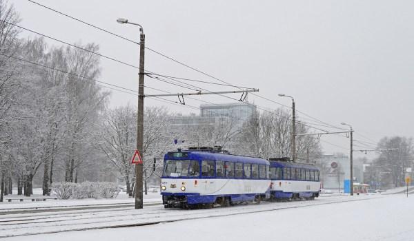 Фото: Рига, Tatra T3A № 30917 — TransPhoto