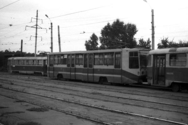 Фото: Барнаул, 71-608К № 1042; Барнаул, Tatra T3SU ...