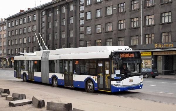 Фото: Рига, Škoda 27Tr Solaris III № 17616 — TransPhoto