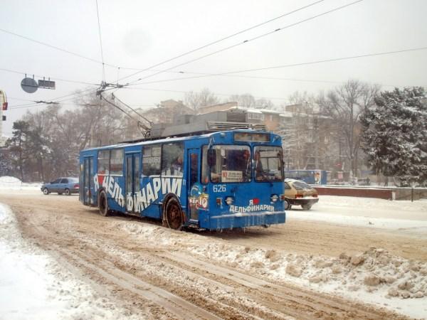 Фото: Одесса, ВЗТМ-5284.02 № 626; Одесса — 17.01.2016 ...