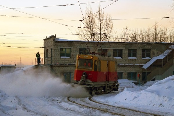 Барнаул, ГС-4 (КРТТЗ) № 1407 — Фото — TransPhoto