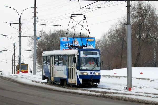 Фото: Барнаул, Tatra T3SU КВР Барнаул № 3059 — TransPhoto