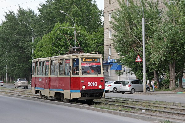 Фото: Новосибирск, 71-605 (КТМ-5М3) № 2016 — TransPhoto