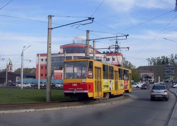 Фото: Барнаул, Tatra T6B5SU № 3182 — TransPhoto