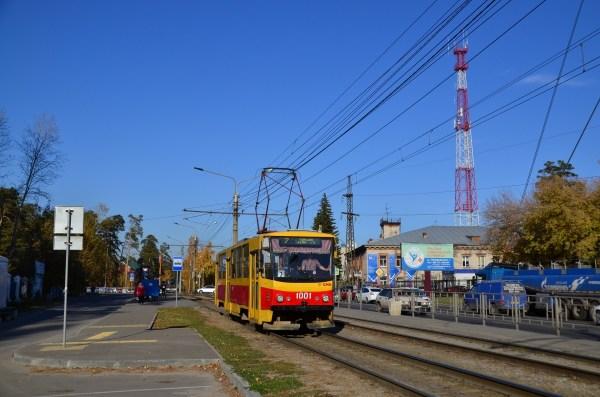 Фото: Барнаул, Tatra T6B5SU № 1001 — TransPhoto