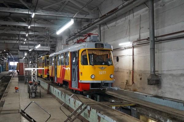 Барнаул, Tatra T3SU КВР Барнаул № 3277 — Фото — TransPhoto