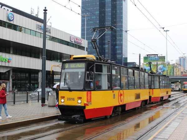 Фото: Варшава, Konstal 105N2k № 2016 — TransPhoto
