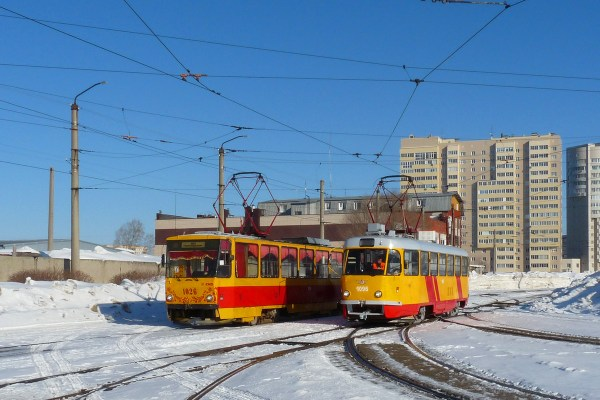 Фото: Барнаул, Tatra T3SU КВР Барнаул № 1096 — TransPhoto