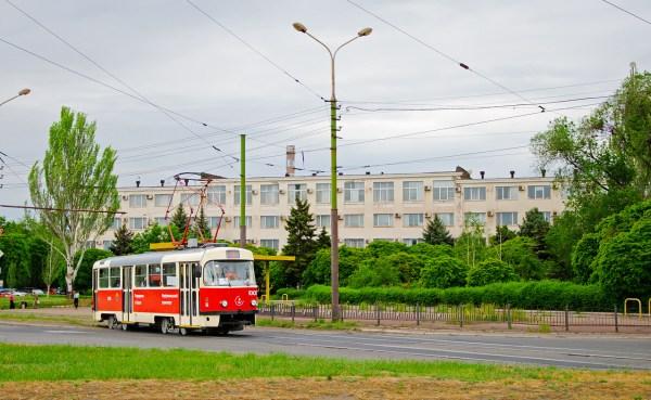Фото: Мариуполь, Tatra T3SUCS № 1005 — TransPhoto