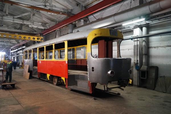 Фото: Барнаул, Tatra T3SU КВР Барнаул № 1131 — TransPhoto