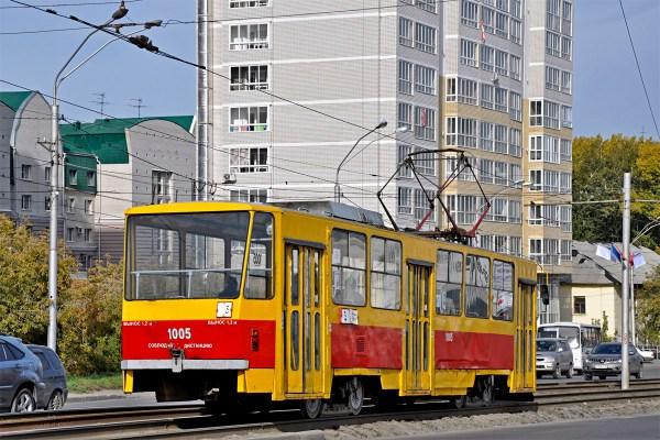 Фото: Барнаул, Tatra T6B5SU № 1005 — TransPhoto