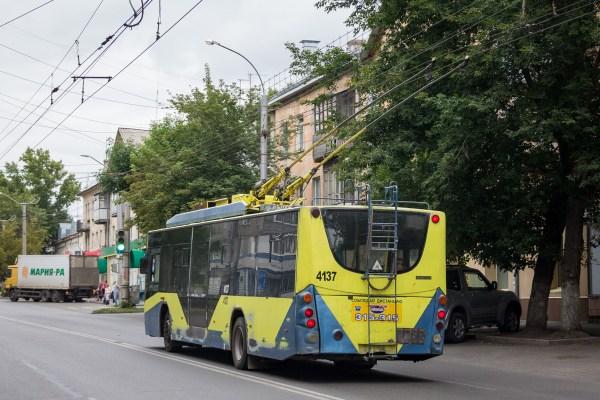 Фото: Барнаул, ВМЗ-5298.01 «Авангард» № 4137 — TransPhoto