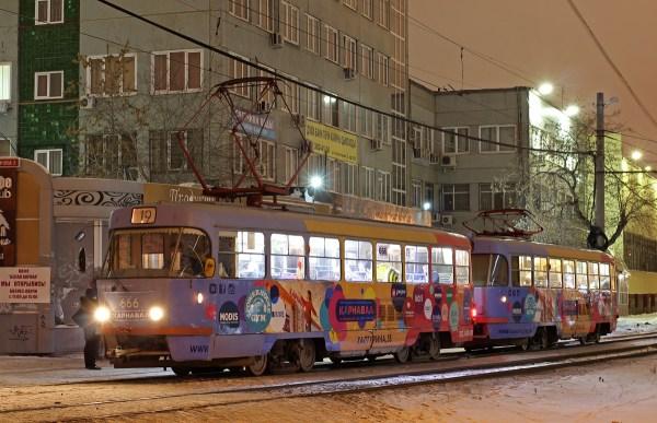 Фото: Екатеринбург, Tatra T3SU № 666 — TransPhoto