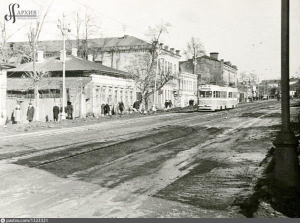 Пермь — Старые фотографии — Фото — Городской электротранспорт