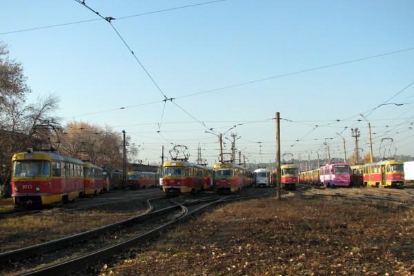 Фото: Барнаул, Tatra T3SU № 1075; Барнаул, Tatra T3SU ...