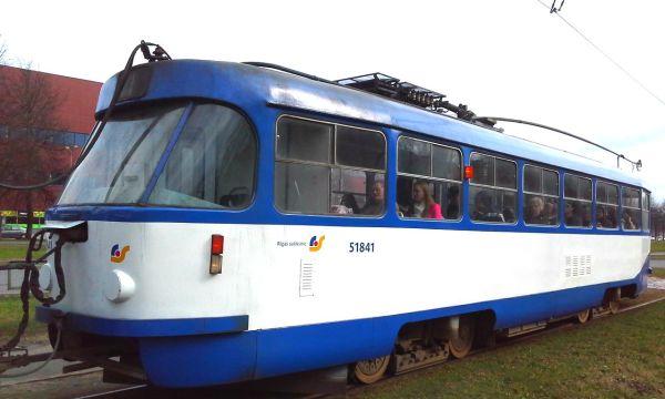 Фото: Рига, Tatra T3A № 51841 — TransPhoto