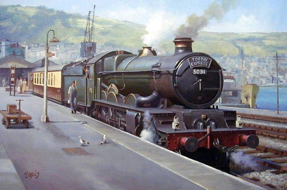 Ex GWR Castle Transport Artist