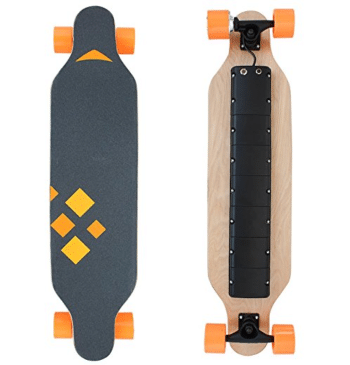 Haitral Electric Skateboard Front & Back