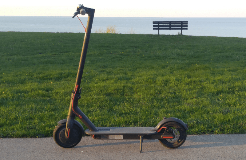 mi electric scooter full review transportation evolved. Black Bedroom Furniture Sets. Home Design Ideas