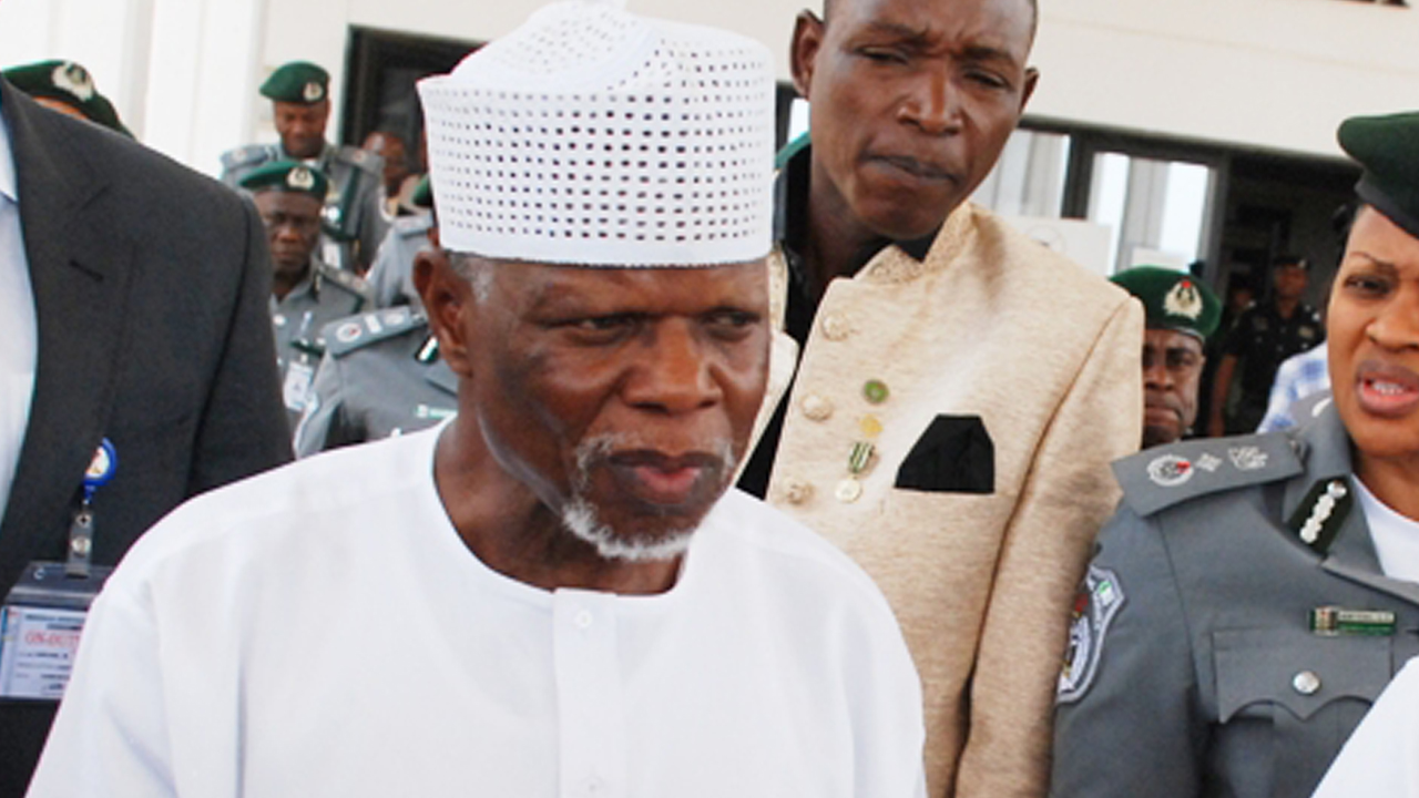 The Comptroller-General of Customs, Col. Hameed Ali (retd.)