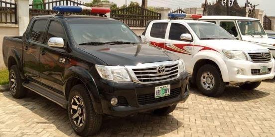 Zamfara Governor distributes vehicles to security agencies