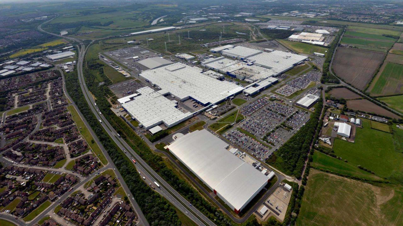 Nissan Sunderland Factory in England.