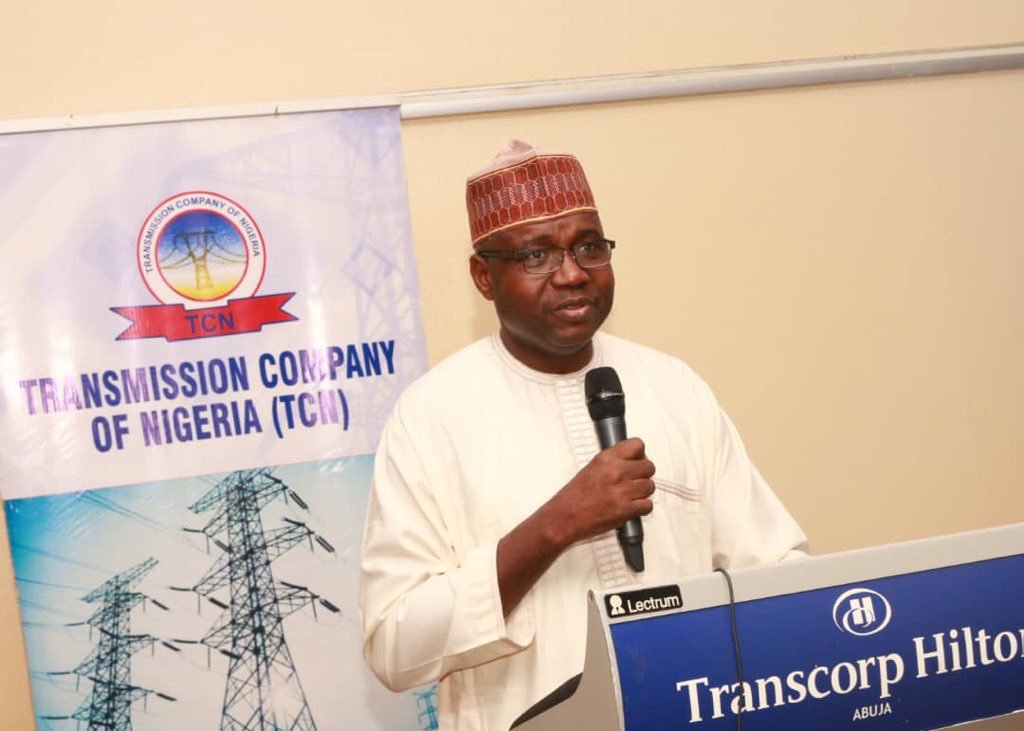 Managing Director/Chief Executive Officer, TCN, Mr Usman Mohammed.