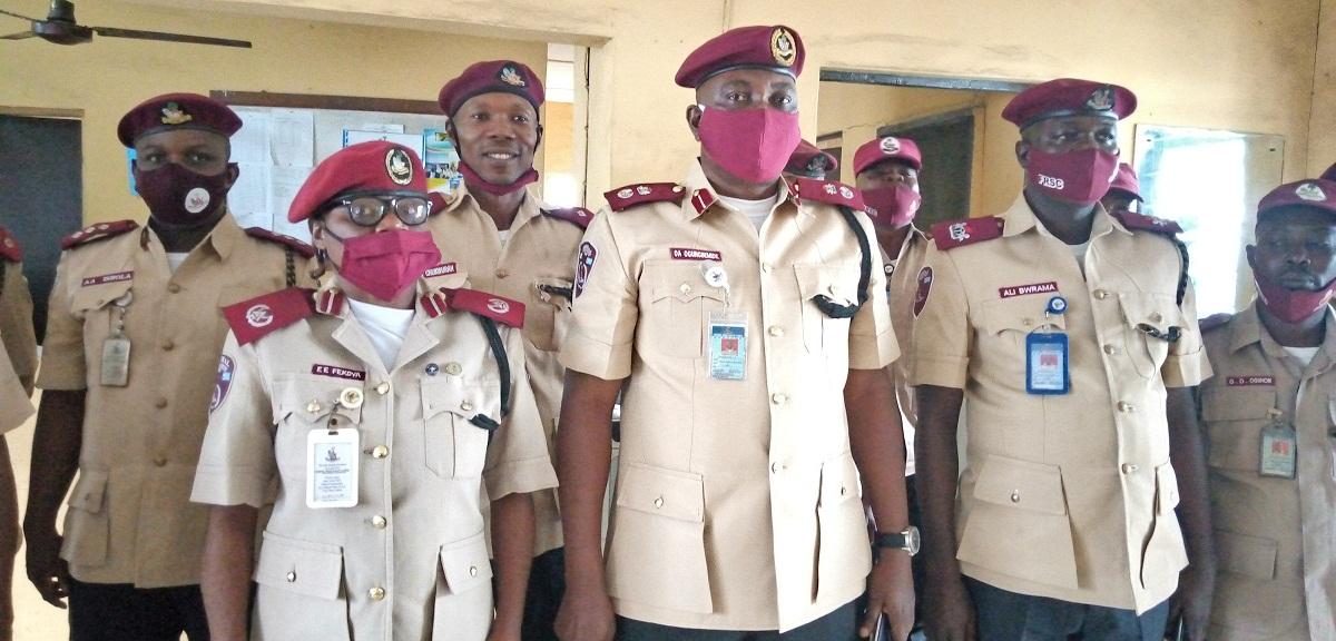 New FRSC Sector Commander visits Ikeja Unit Command, salutes Oba of Ikeja
