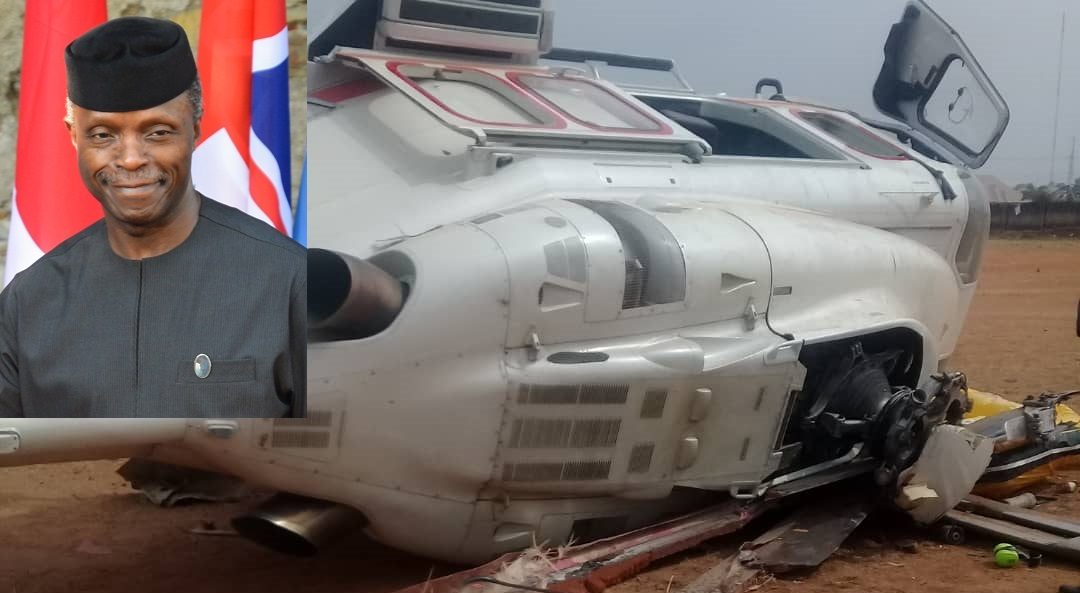 AIB releases report on Osinbajo's helicopter crash