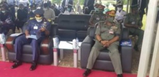 Chief of Air Staff, Bello, others pay final respects to Arotile