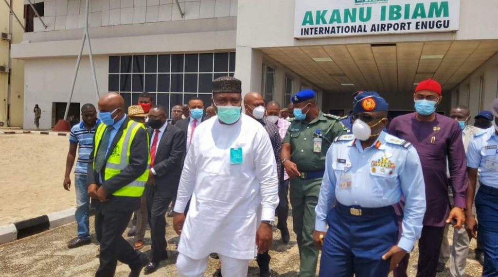 Enugu Airport: FG vows to prosecute individual who destroyed fence