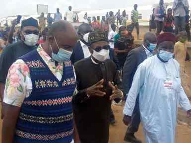 Amaechi, Lai Mohammmed, NPA MD inspects Lagos-Ibadan rail