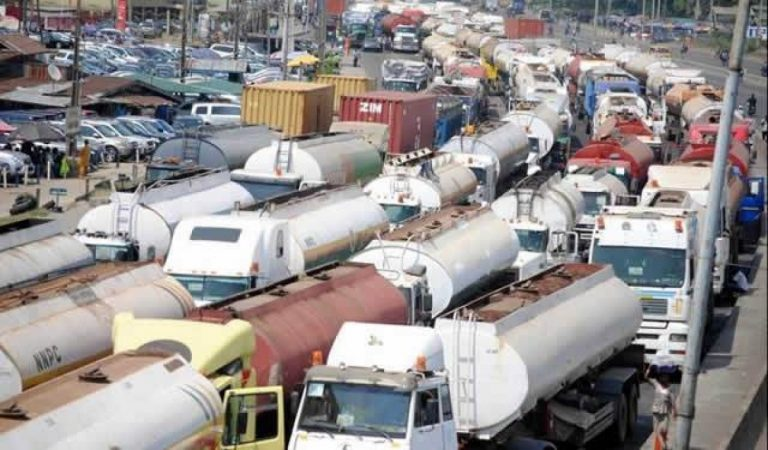Petroleum tanker drivers threaten strike over bad roads