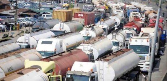 Petroleum tanker drivers threaten strike over bad roads