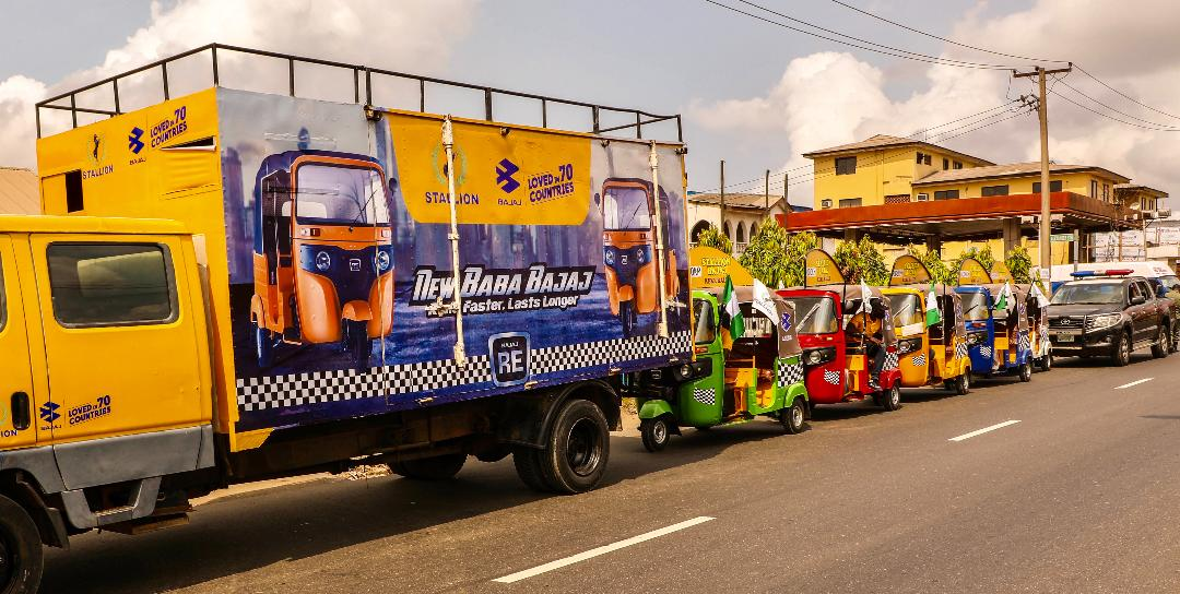 Stallion, Bajaj kick off first Keke Rally across Nigeria
