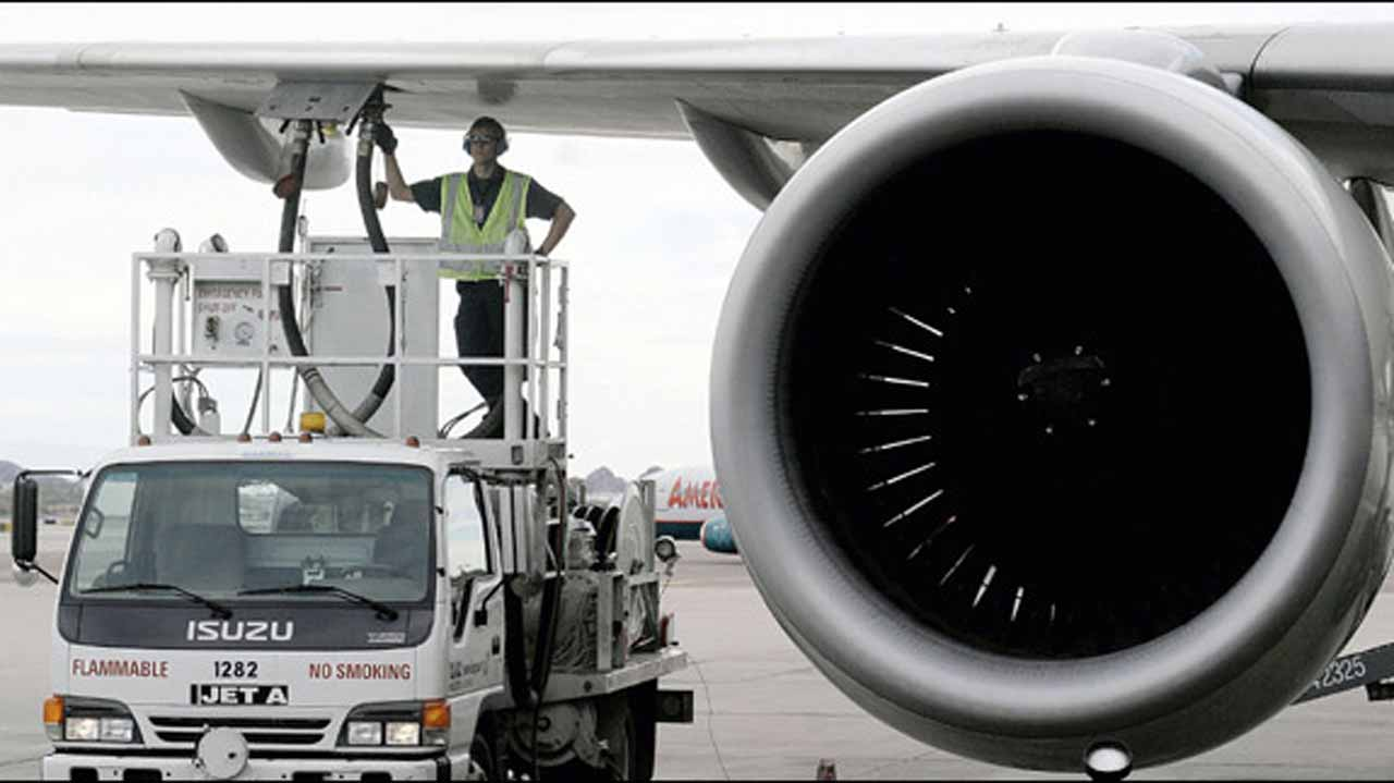 Aviation fuel sale plunge by 58.1%, oil companies records loss