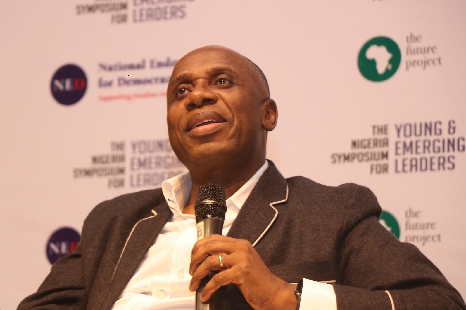 The Minister of Transportation, Mr Rotimi Amaechi.