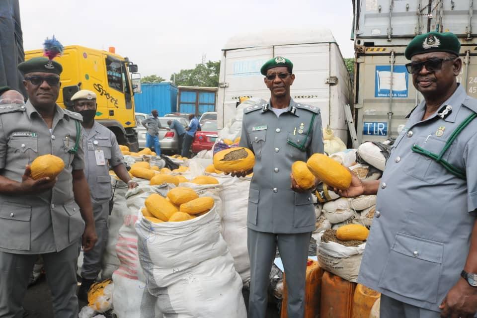 Customs intercepts contrabands, raised debit notes worth N767m