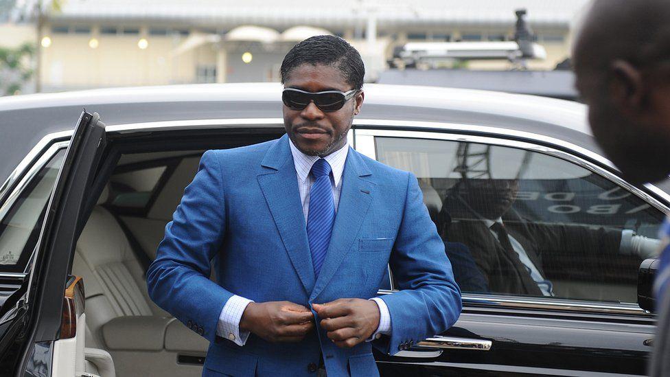Guinea's vice president, Teodoro Nguema Obiang Mangue.